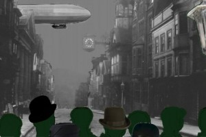 Zeppelins over Guildford